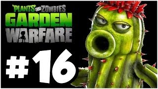 Plants vs. Zombies Garden Warfare Walkthrough - PLANTSKATEERS!! Part 16 (Xbox One 1080p HD)