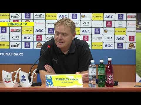 Tisková konference domácího trenéra po utkání Teplice - Bohemians 1905 (27.9.2019)
