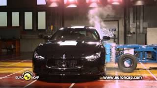 Euro NCAP | Maserati Ghibli | 2013 | Crash test