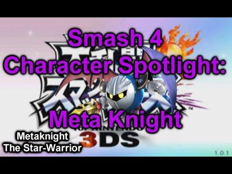 Smash 4 Character Spotlight: Meta Knight