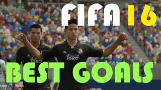 FIFA 16 - THE BEST GOALS