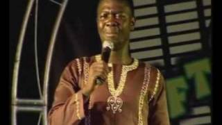 Seyi Law performing live at  Glo Laffta fest in Ijebu-Ode