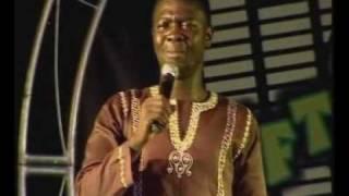 Seyi Law performing live at  Glo Laffta fest in Ijebu-Ode
