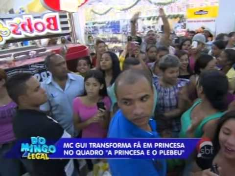 Domingo Legal (22/12/13) - MC Gui em ´A Princesa e o Plebeu´