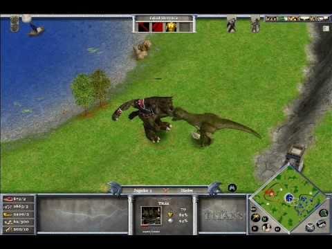 Age of Mythology: Titan VS Tyrannosaurus rex