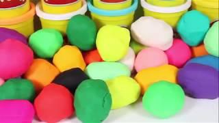 Bộ Đồ Chơi Đất Sét Play Doh-Bóc Quà Trong Đất Sét-Toy Review