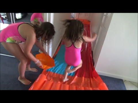 "Slip n Slide In The House ""Victoria Annabelle Freak Daddy""  Toy Freaks Family"