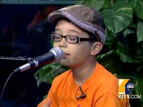8-Year-Old Ukulele Prodigy Performs This Morning