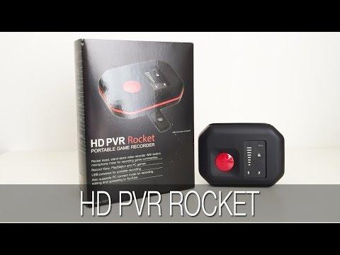 Hauppauge HD PVR Rocket Unboxing & Review