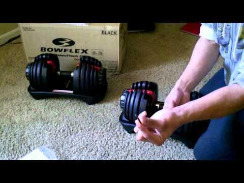 Bowflex Selecttech Dumbbell Bowflex Selecttech 552