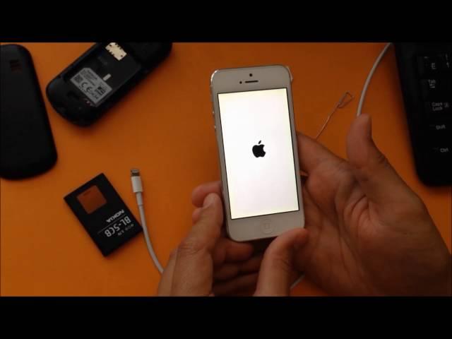 Как сделать системный сброс айфону