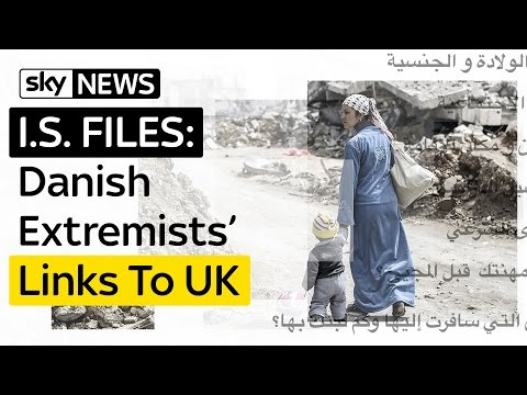 IS Files Reveal Danish Recruiters' Links To UK