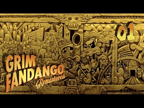 Grim Fandango Remastered - Прохождение pt1