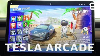 New Tesla Arcade Game Hands-On: Beach Buggy Racing 2