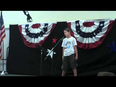 Winning 5th grade speech for President