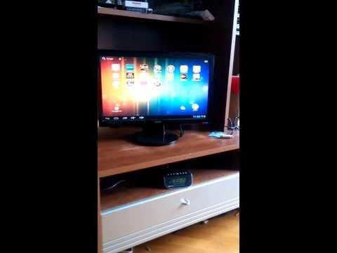 Smart TV из битого планшета + старый монитор