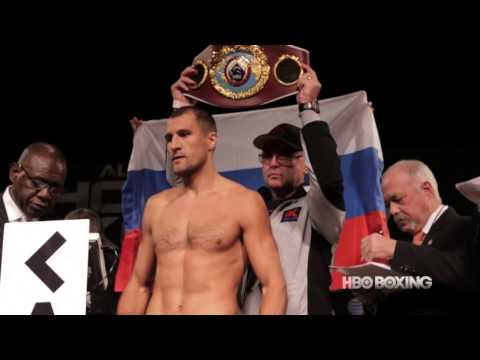 HBO Boxing: Hopkins and Kovalev Weigh-In
