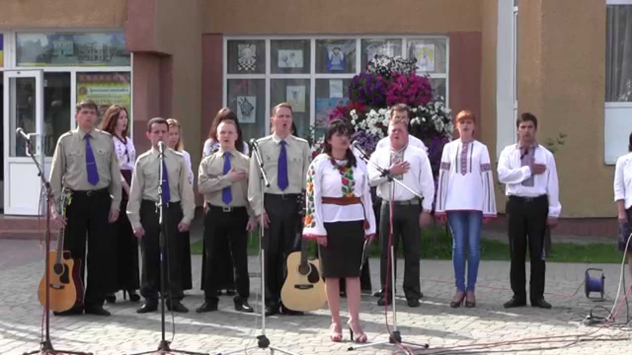 Калушани відзначили біля пам'ятника Роману Шухевичу три дати