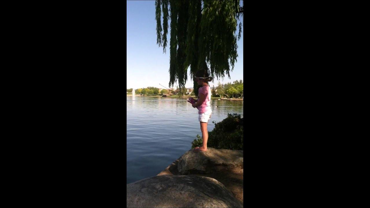 Kate Fishing at Harveston