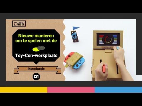 Nieuwe manieren om te spelen met de Toy-Con-werkplaats - Deel 1 (Nintendo Labo)