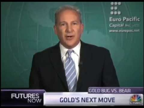 Peter Schiff Takes On Credit Suisse Gold Bear