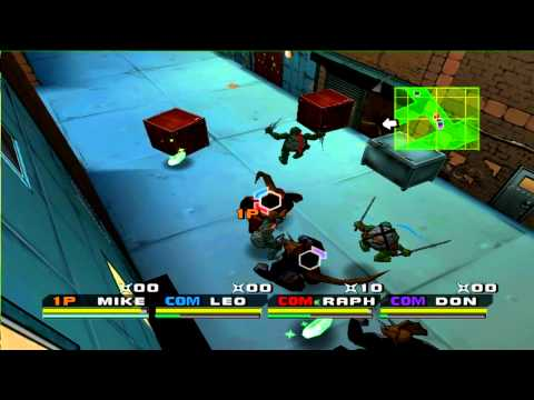 Dolphin Emulator: Teenage Mutant Ninja Turtles 3 - Mutant Nightmare (100% Full Speed. HD)