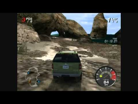 Land Rover Ford Off Road Package & Review (PS2)