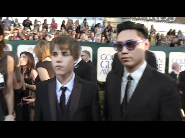 Golden Globes Red Carpet Interview: Justin Bieber &amp; Jon M. Chu