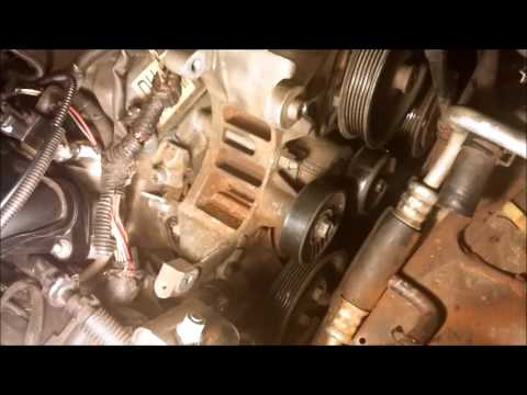 2004 Ford Taurus AC Compressor Removal