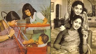 Mahanati Savitri Rare and Unseen photos with family and friends | mahanati savithri