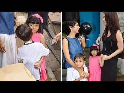 Aaradhya Bachchan & Azad Rao Khan' cute video goes VIRAL