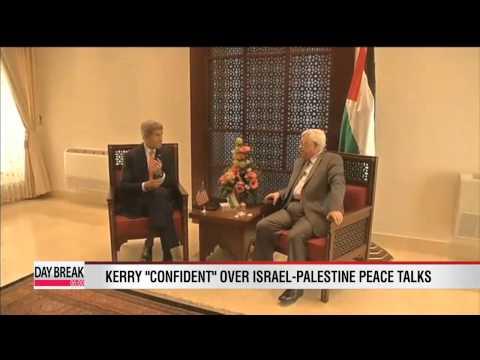 Kerry confident over Israel-Palestine peace talks