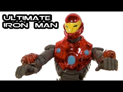 Marvel Legends ULTIMATE IRON MAN Figure Review