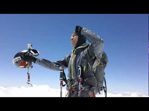 Climb and Ski Mera Peak Nepal with Trek Climb Ski Nepal: Watch Mark Horoszowski ski Mera Peak Nepal