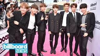 BTS Reacts to Billboard Music Awards Nomination: 'We Are Honored' | Billboard News