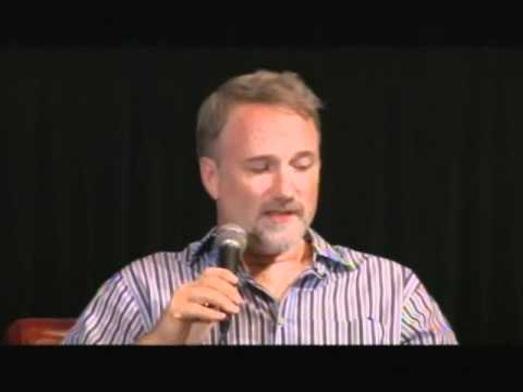 The Social Network - David Fincher Interview Part 1