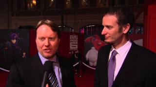 Don Hall & Chris Williams Red Carpet Interview -- BIG HERO 6 US Premiere