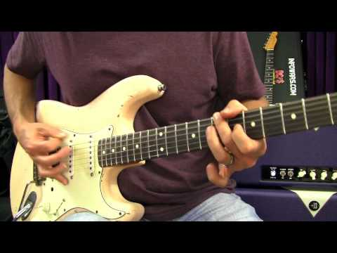 0 Hard Rock Guitar Lessons   Playing Rhythm Using The Pentatonic Scale