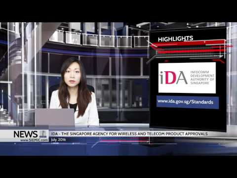 SIEMIC News - IDA - The Singapore Agency for Wireless and Telecom Product Approvals