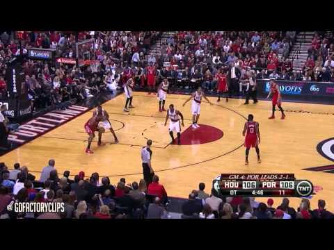 Wesley Matthews Full Highlights vs Rockets 2014 Playoffs West R1G4 - 21 Pts