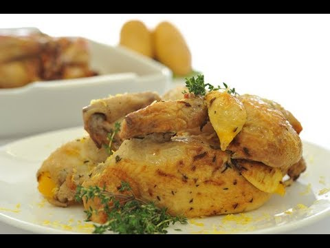 دجاج بالزعتر والليمون thumbnail