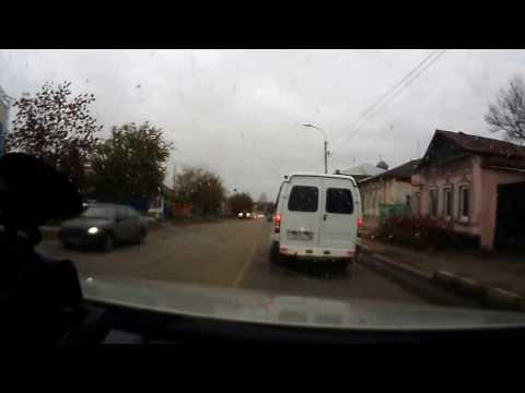 Авария в  Оренбурге на Пролетарской-Постникова 29.10.2013