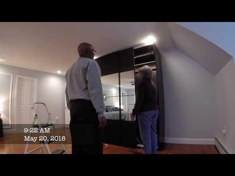 Master Bedroom Update Wardrobe Lighting Installation