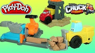 Play Doh Chuck the Truck Saw Mill Diggin' Rigs Playset with Lifty