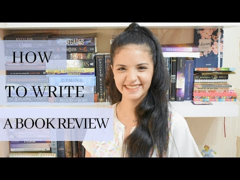 HOW TO WRITE A BOOK REVIEW/ tips for improving your reviews