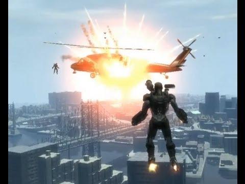 Iron Man IV - All features - GTA iV script mod