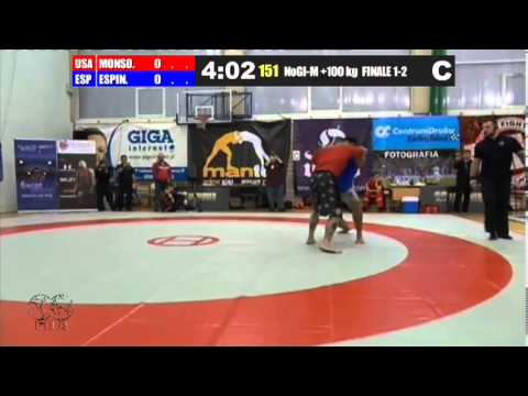 NoGi-M 100+ KG - Gold - Jeff Monson (USA) vs. Juan Espino (ESP) Image 1