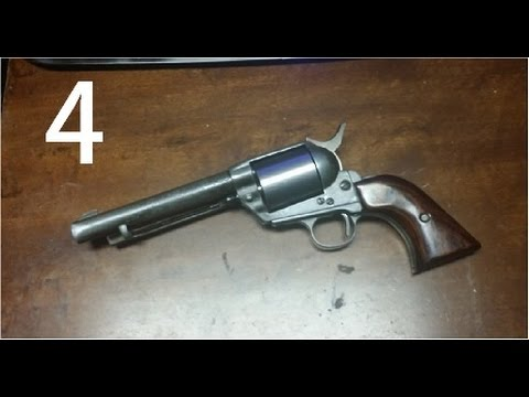 1880 Single action revolver built from scratch (part 4)