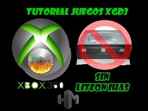 COMO GRABAR JUEGOS XBOX 360 XDG3 AL 100 NO TRUNCATE SIN GRABADORA LITEON