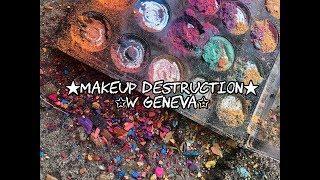 makeup destruction w Geneva